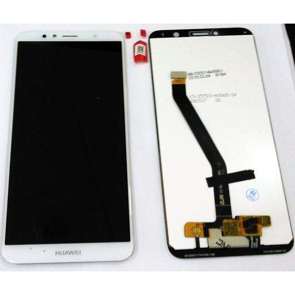 Dotyková deska Huawei Y6 (2018), Y6 PRIME (2018), HONOR 7A + LCD bílá