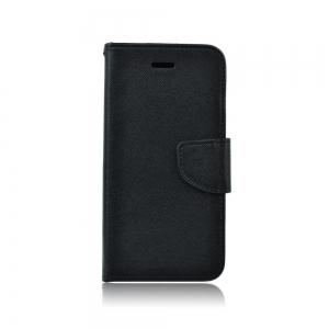 Pouzdro FANCY Diary Huawei Y6 (2018), barva černá