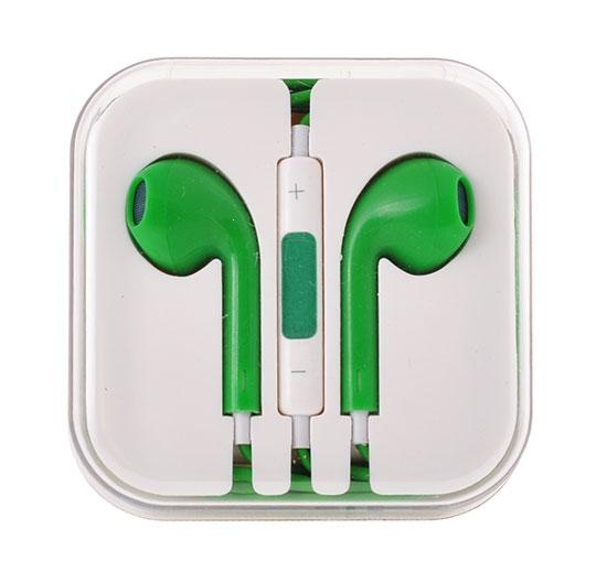 Hands Free MEGA Bass 3,5 mm jack Barva zelená