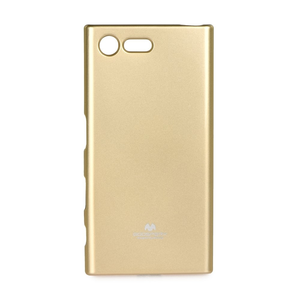 Pouzdro MERCURY Jelly Case Samsung A605 Galaxy A6 PLUS (2018) zlatá