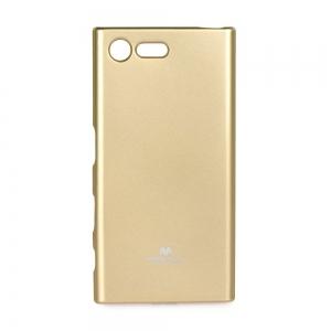 Pouzdro MERCURY Jelly Case Samsung A600 Galaxy A6 (2018) zlatá