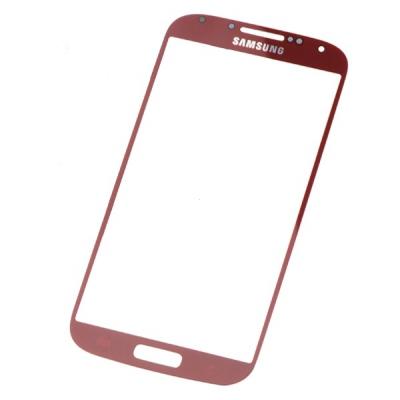 Dotyková deska Samsung i9505, i9500 Galaxy S4 červená