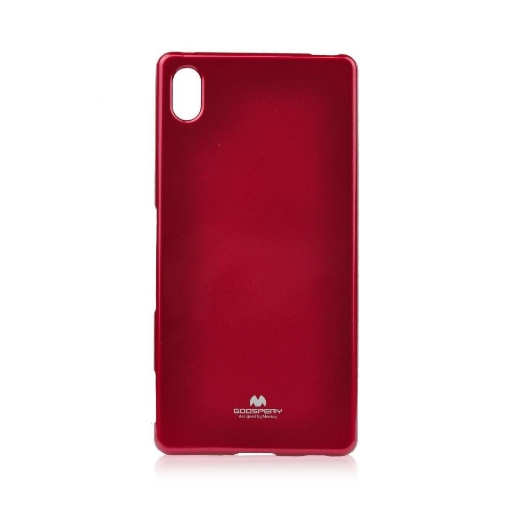Pouzdro MERCURY Jelly Case Huawei Y6 (2018), Y6 PRIME (2018) červená