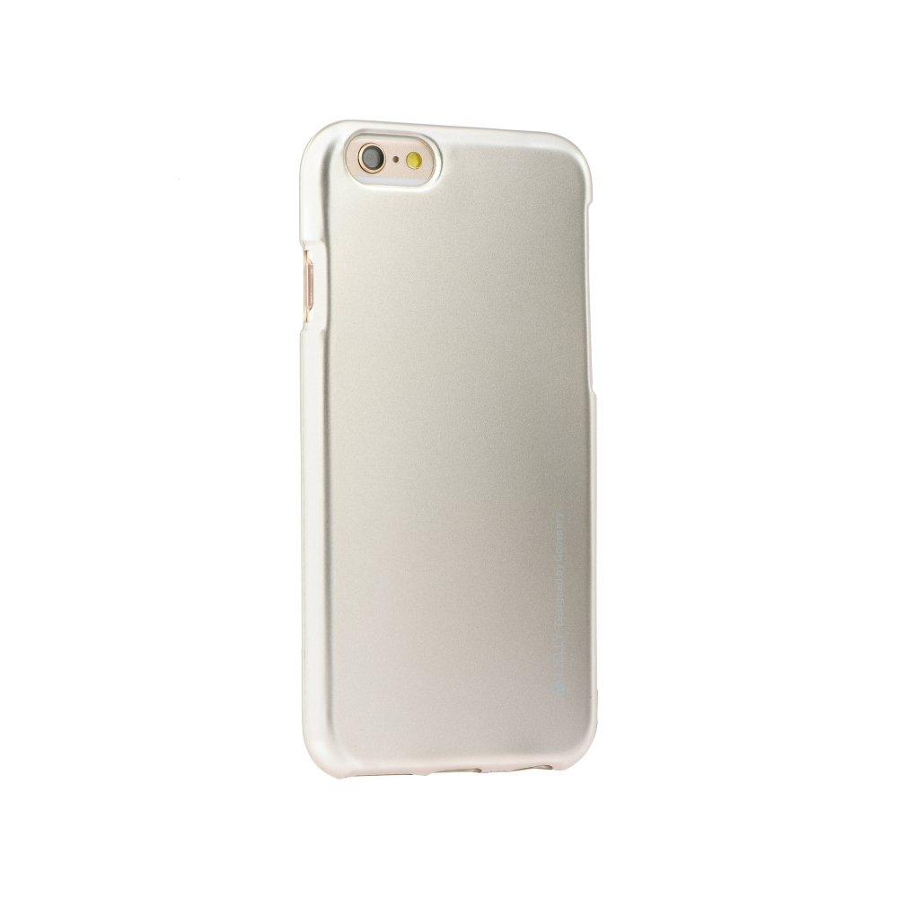 Pouzdro MERCURY i-Jelly Case METAL Huawei Y5 (2018) zlatá