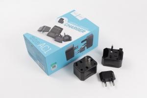 Adaptér nabíječe HOCO AC1 - EU/UK/US