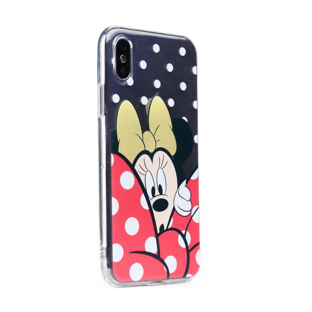Pouzdro iPhone 7, 8 (4,7) Minnie Mouse vzor 015