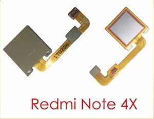 Xiaomi Redmi NOTE 4X flex pásek otisk prstu zlatá