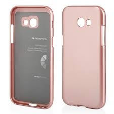 Pouzdro MERCURY i-Jelly Case METAL Samsung J600 Galaxy J6 (2018) rose gold