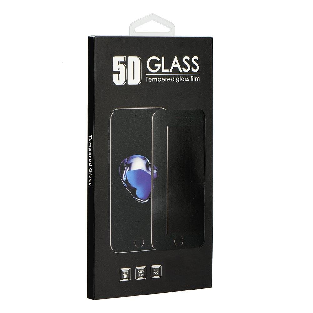 Tvrzené sklo 5D FULL GLUE iPhone XS MAX (6,5) bílá