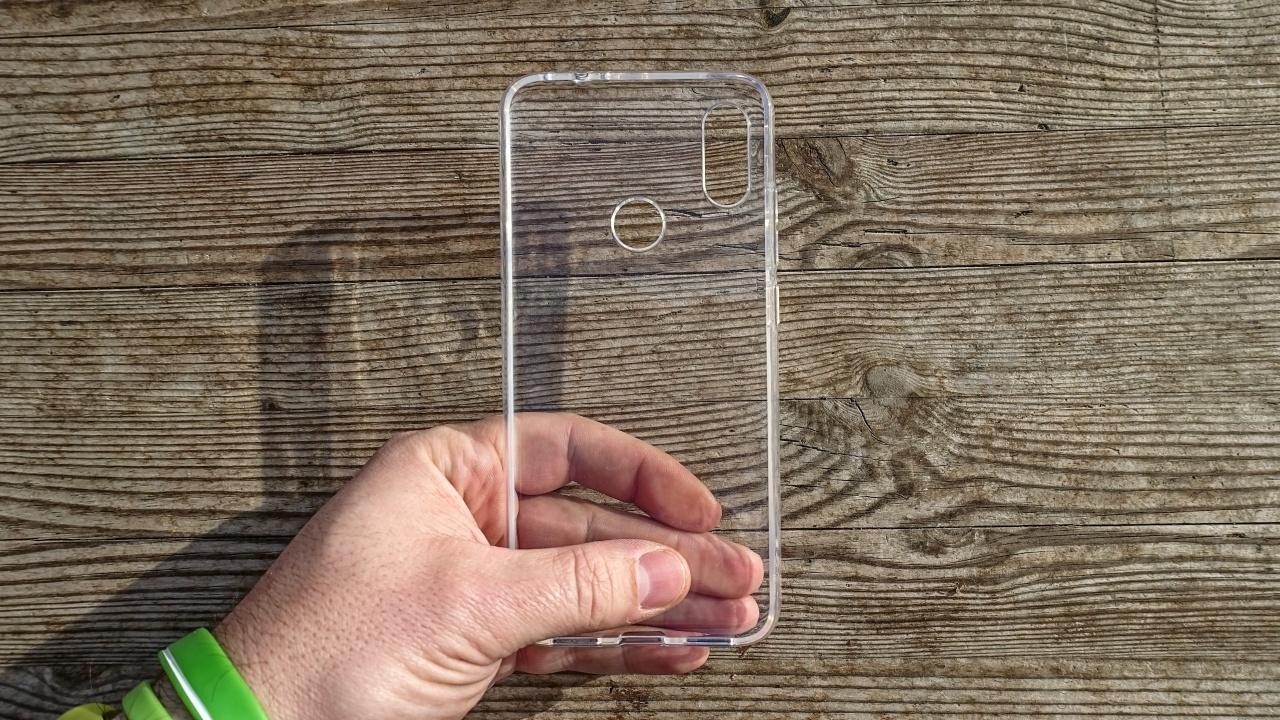 Pouzdro Back Case Ultra Slim 0,3mm Nokia 7 PLUS transparentní