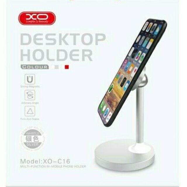 Stojánek na mobil, tablet XO Design XO-C16 barva stříbrná