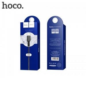 Datový kabel HOCO X20 iPhone Lightning barva černá - 3 metry