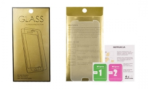 Tvrzené Sklo 9H iPhone 6 PLUS, 6S PLUS (5,5) GoldGlass