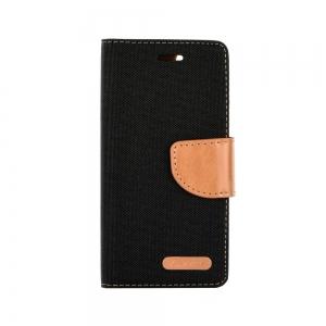 Pouzdro CANVAS Fancy Diary Huawei MATE 20 LITE černá