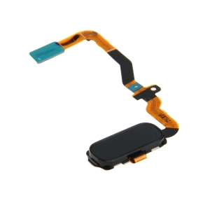 Samsung G930 Galaxy S7 flex pásek HOME button + otisk prstu barva černá