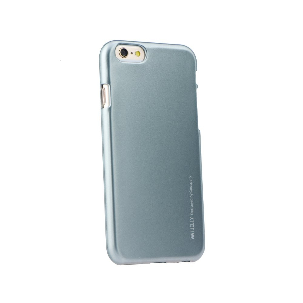 Pouzdro MERCURY i-Jelly Case METAL iPhone XR (6,1) šedá