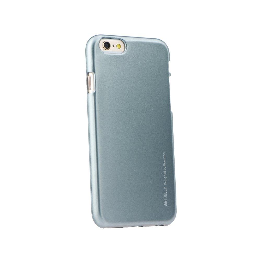Pouzdro MERCURY i-Jelly Case METAL iPhone XR (6,1) šedá