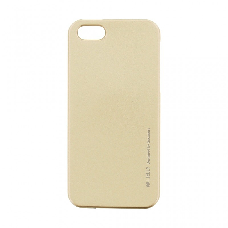 Pouzdro MERCURY i-Jelly Case METAL iPhone XS MAX (6,5) zlatá