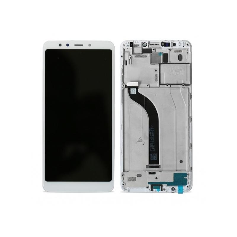 Dotyková deska Xiaomi Redmi 5 + LCD s rámečkem bílá