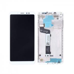 Dotyková deska Xiaomi Redmi NOTE 5 + LCD s rámečkem bílá