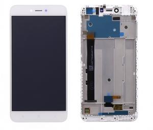 Dotyková deska Xiaomi Redmi NOTE 5A PRIME + LCD s rámečkem bílá