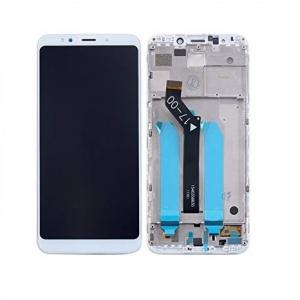 Dotyková deska Xiaomi Redmi 5 PLUS + LCD s rámečkem bílá