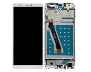 Dotyková deska Huawei P SMART + LCD s rámečkem bílá