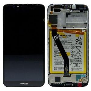 Dotyková deska Huawei Y6 (2018), Y6 PRIME (2018), HONOR 7A + LCD s rámečkem černá