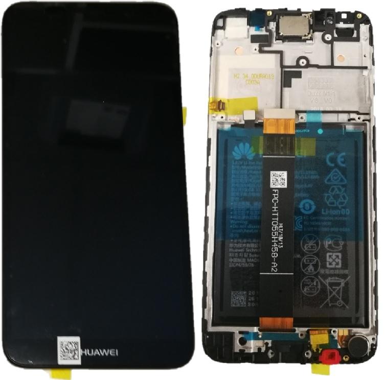 Dotyková deska Huawei Y5 (2018) + LCD s rámečkem černá