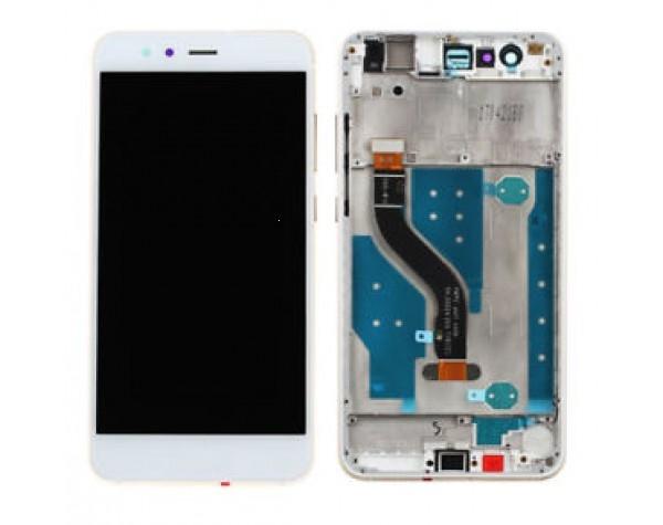 Dotyková deska Huawei P10 LITE + LCD s rámečkem bílá