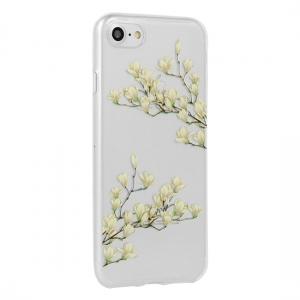 Pouzdro FLORAL Ultra Slim iPhone X, XS (5,8) Magnolia