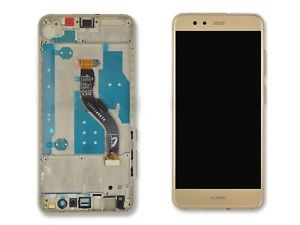 Dotyková deska Huawei P10 LITE + LCD s rámečkem zlatá