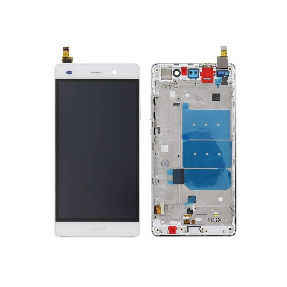 Dotyková deska Huawei P8 LITE + LCD s rámečkem bílá