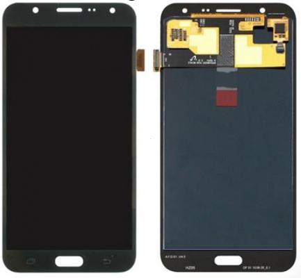 Dotyková deska Samsung J700 Galaxy J7 + LCD černá Class A (tloušťka +0,3mm)