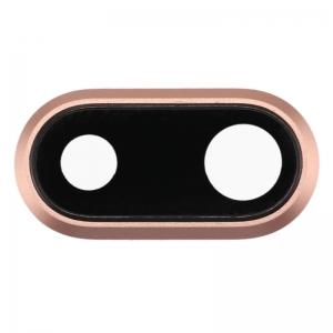 Sklíčko zadní kamery iPhone 8 PLUS 5,5 + rámeček zlatá