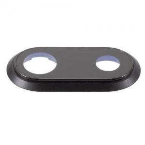 Sklíčko zadní kamery iPhone 8 PLUS 5,5 + rámeček černá