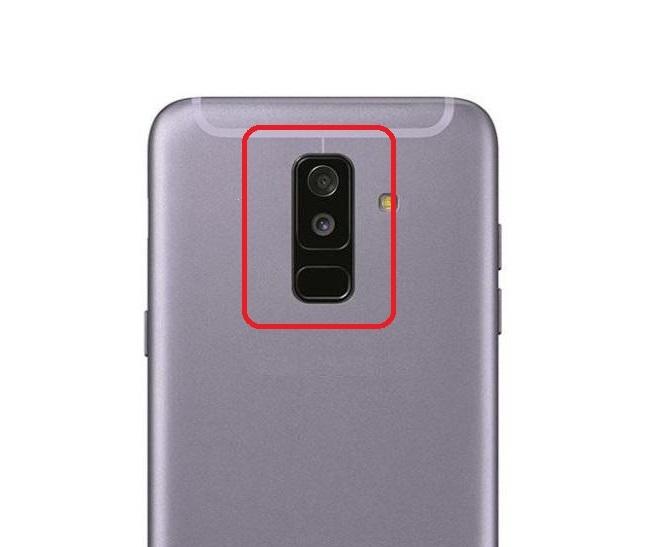 Sklíčko zadní kamery Samsung A605 Galaxy A6 PLUS (2018)