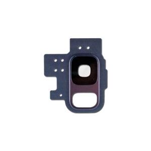 Sklíčko zadní kamery Samsung G960 Galaxy S9 modrá