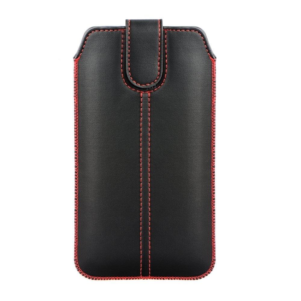 Pouzdro FORCELL M4 Samsung A605 Galaxy A6 PLUS, Huawei Mate 20 Lite černá