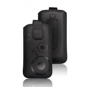 Pouzdro DEKO Samsung A41, A600, A20e, HUA P20, Nok 3.1, 5.1 barva černá