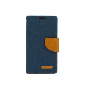 Pouzdro CANVAS Fancy Diary iPhone XS MAX (6,5) navy blue