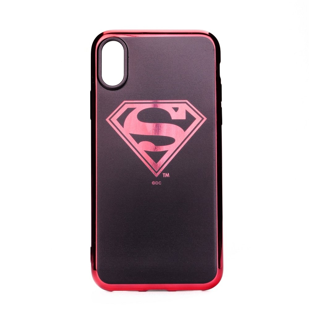 Pouzdro iPhone 7, 8 (4,7) Superman Luxury Chrome vzor 004
