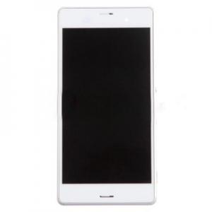 Dotyková deska Sony Xperia Z3 D6603, Z3 DUAL D6633 + LCD bílá
