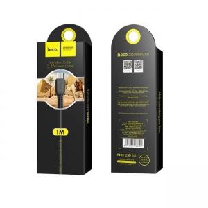 Datový kabel HOCO X20 micro USB barva černá - 1 metr