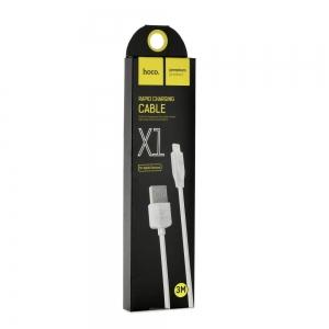 Datový kabel HOCO X1 RAPID iPhone Lightning - 3 metry