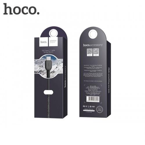 Datový kabel HOCO X20 micro USB TYP-C barva černá - 1 metr