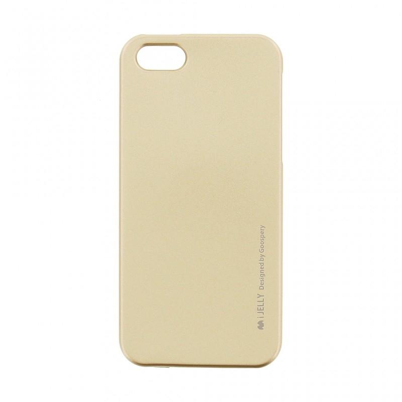 Pouzdro MERCURY i-Jelly Case METAL Xiaomi Redmi 6, 6A zlatá
