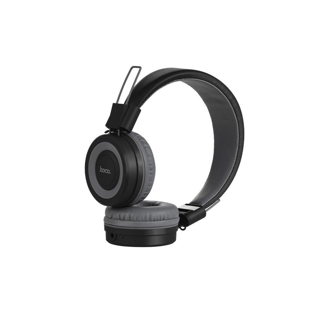 Bluetooth headset HOCO Cool motion W16 barva šedá