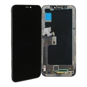 Dotyková deska iPhone X (5,8) + LCD černá OLED Class A