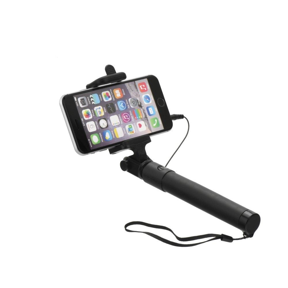 Držák na Selfie BLUN MINI 82cm 3,5mm jack barva černá